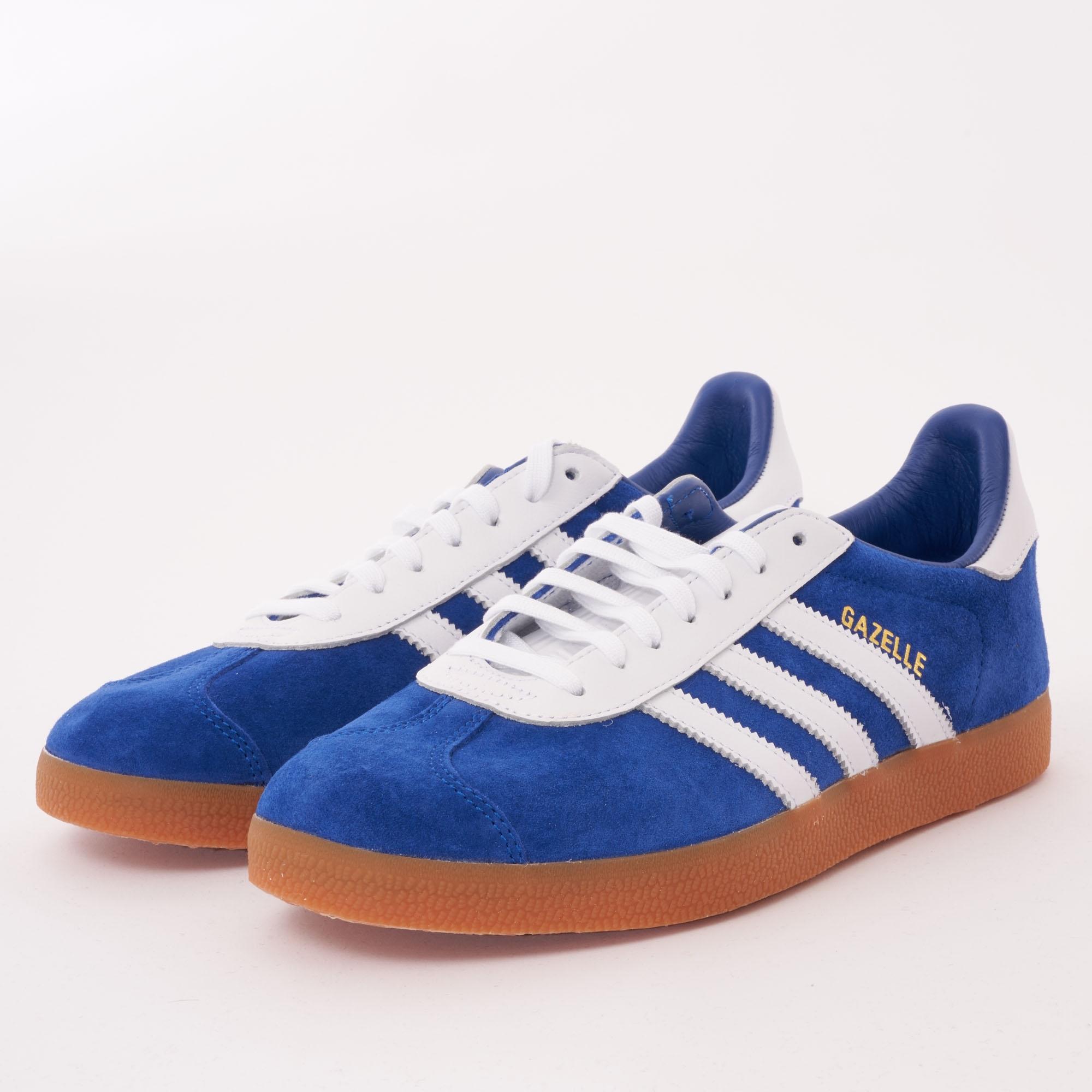 Federal salado Iluminar  Adidas Gazelle | Royal Blue & FTW White | B37943