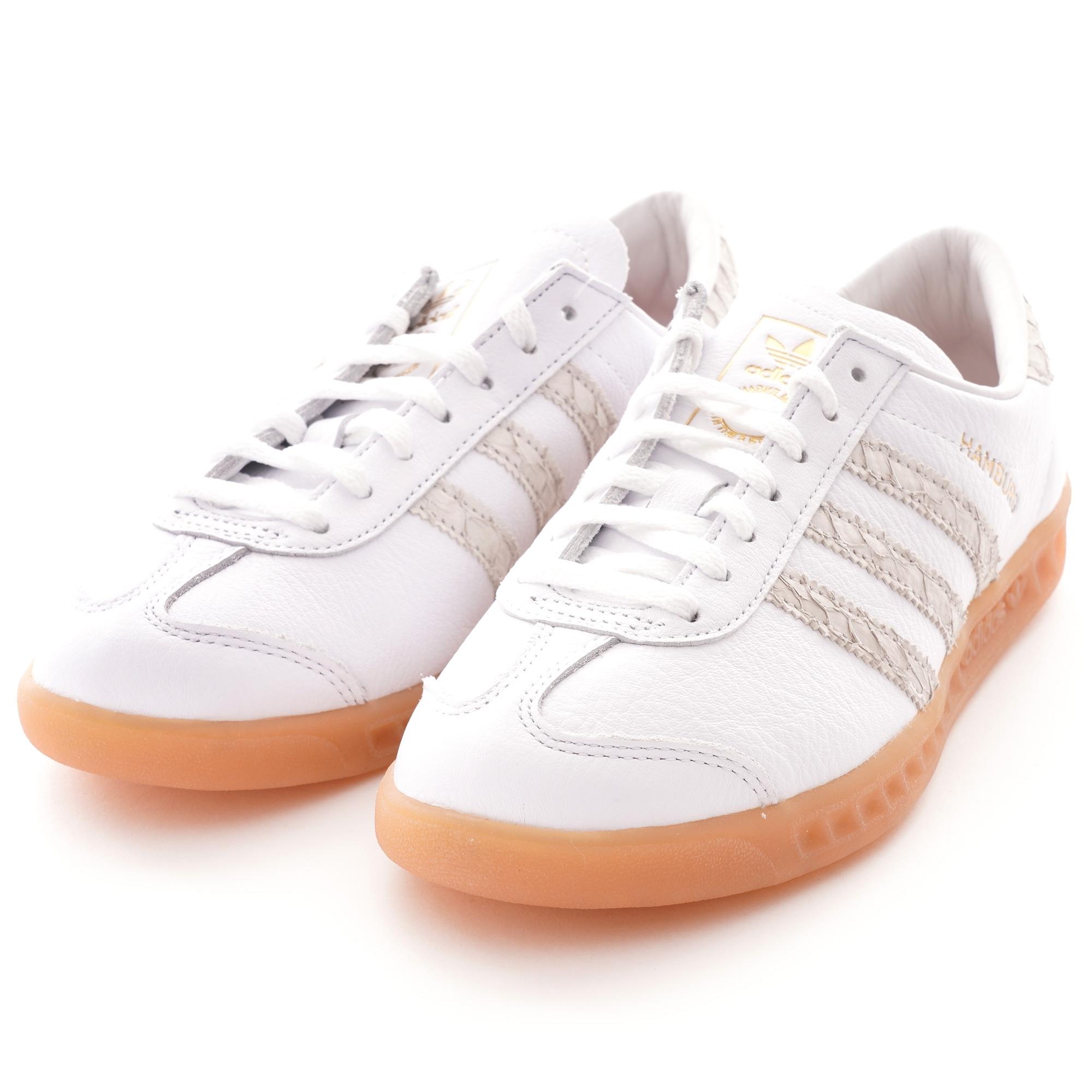Adidas Originals Hamburg Shoes - White