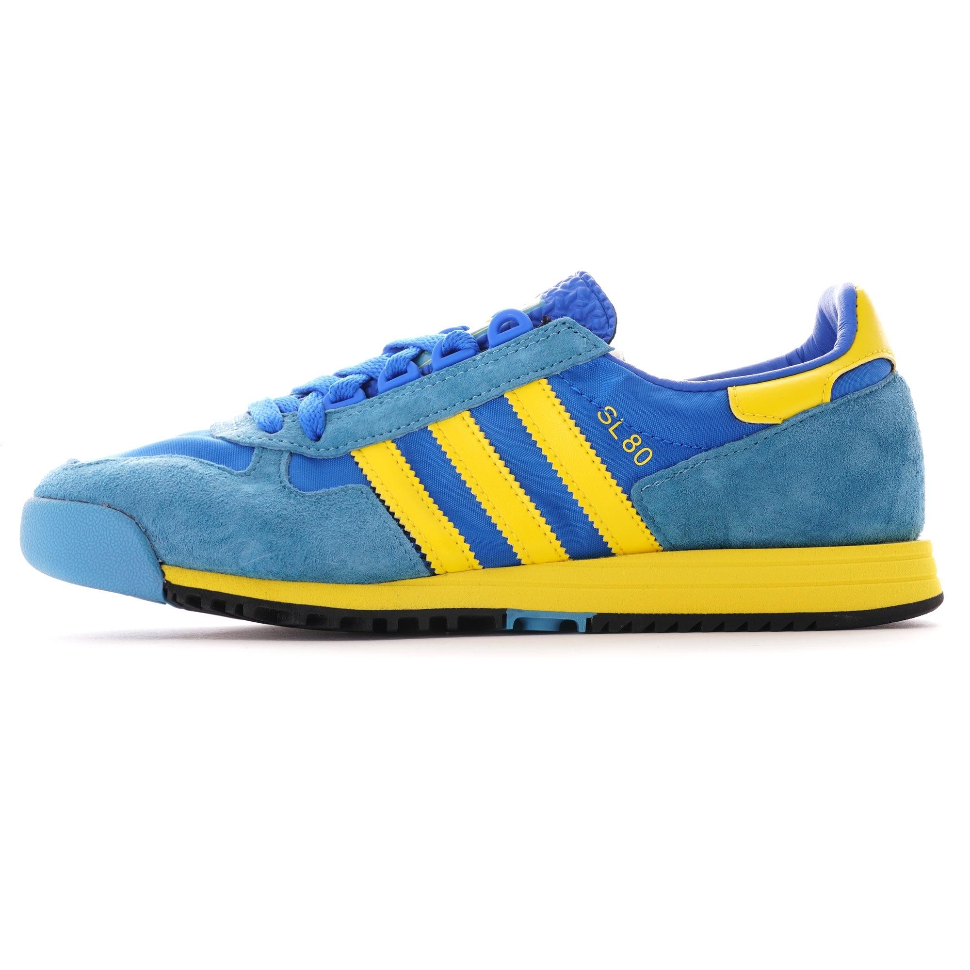 Adidas Originals SL 80 Shoes - Glory Blue