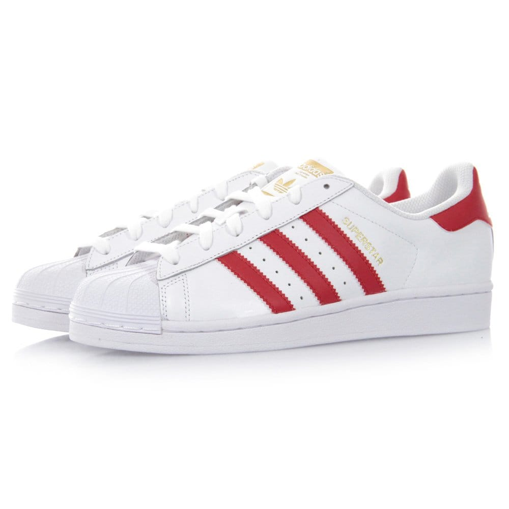 Adidas superstar 2g red