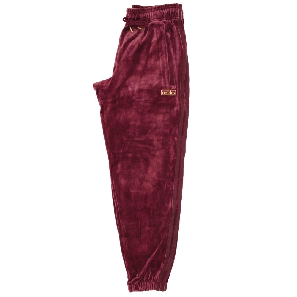 uk availability 56988 e39b3 adidas velour track pants