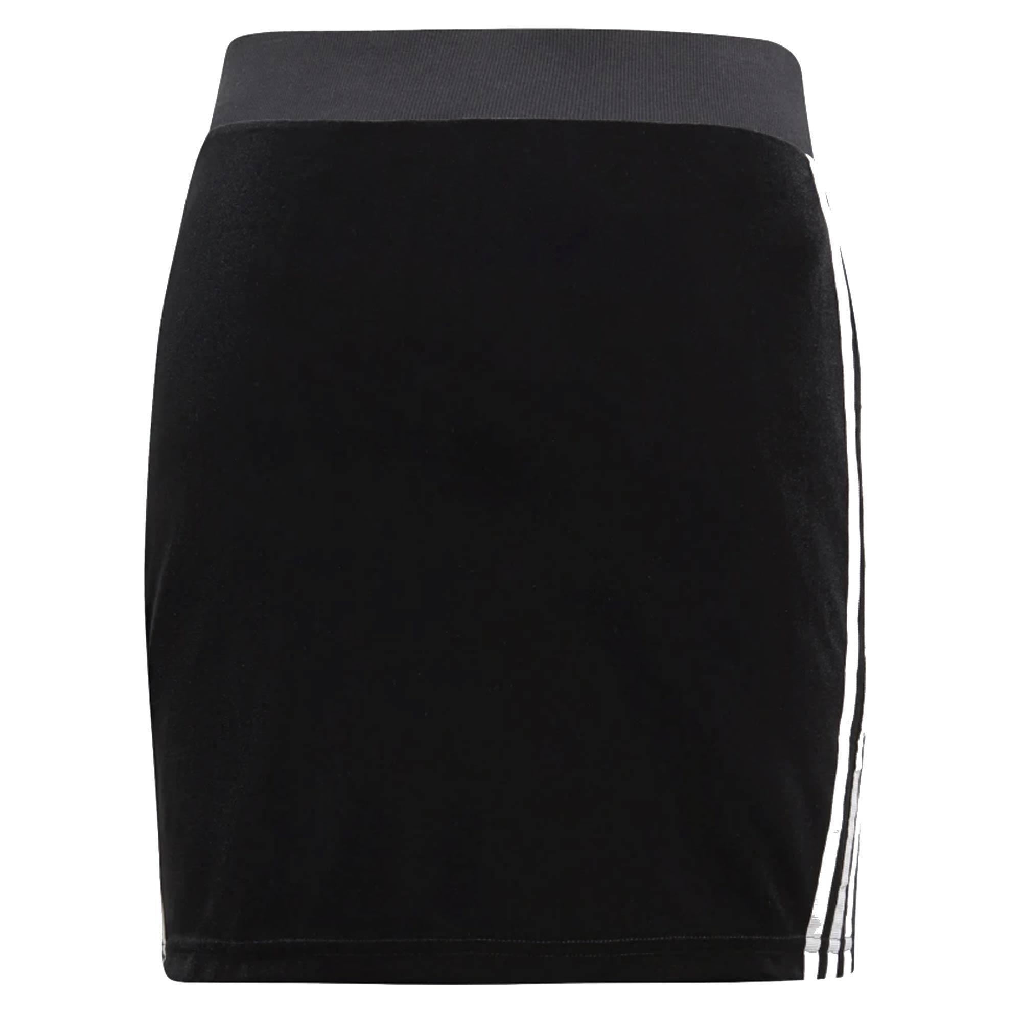 e4e9b3ea97e9b 3-Stripes Skirt - Black