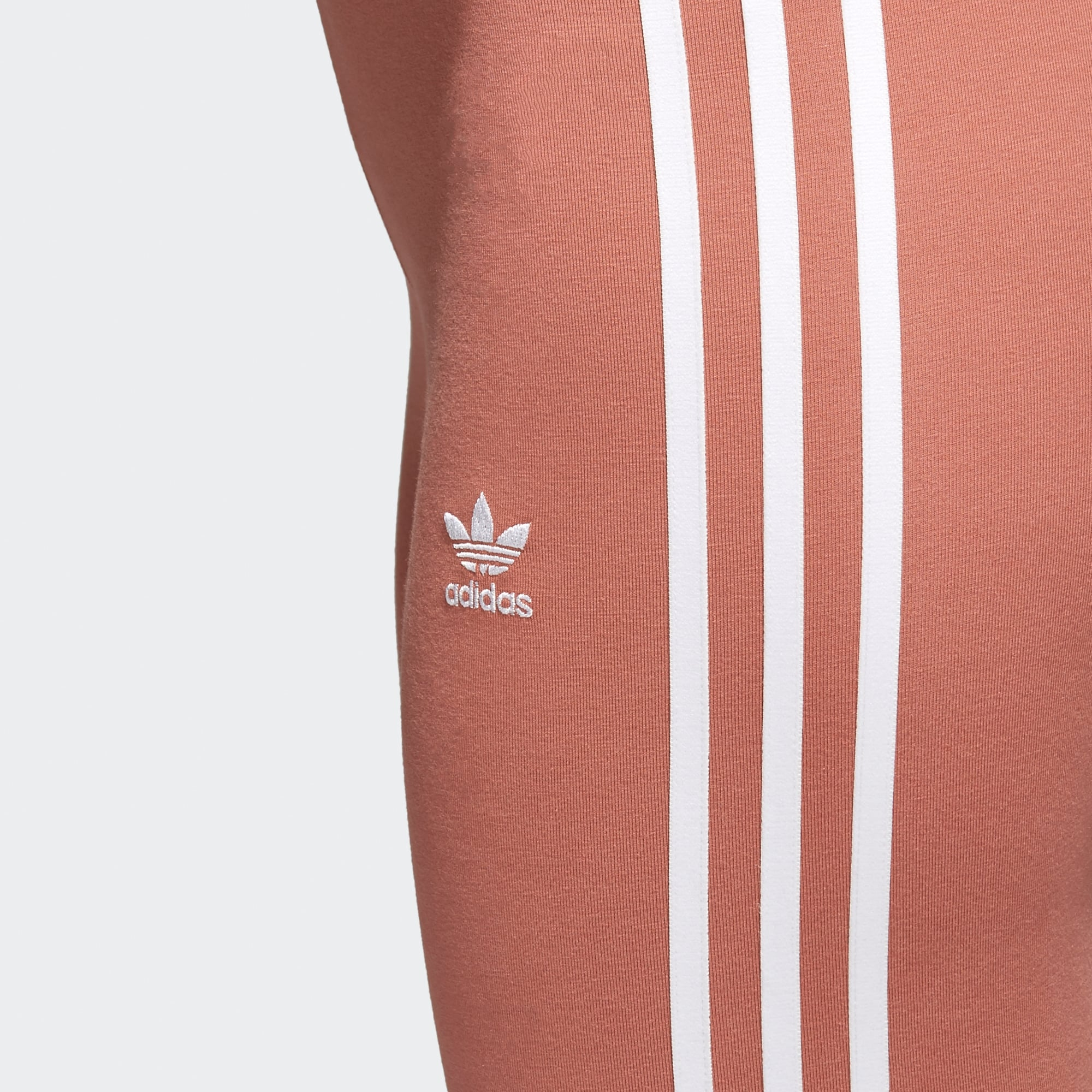 ad8a401516e07b Adidas Originals Ash Pink 3-Stripes Tights | CE2444