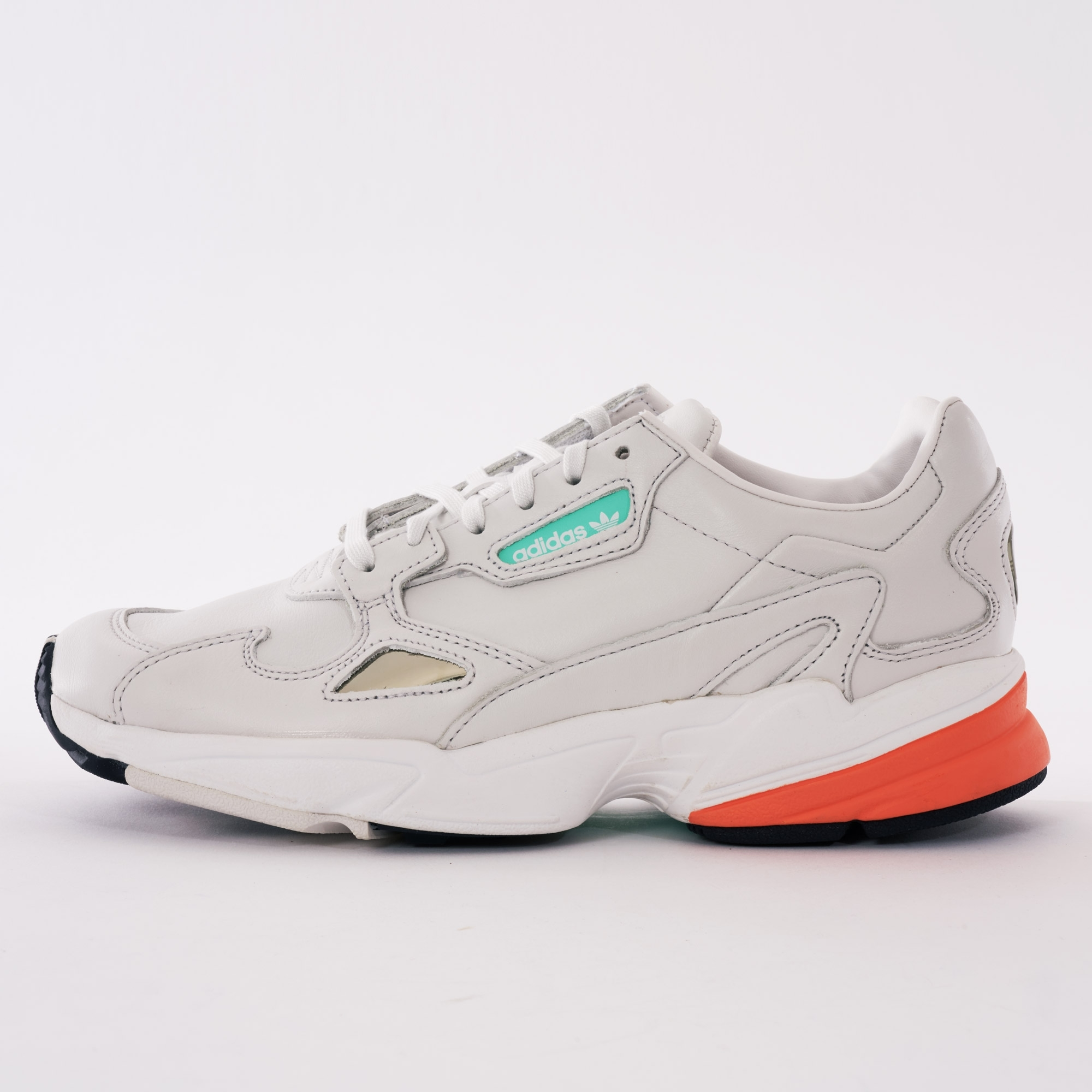 Adidas Womens Falcon | White \u0026 Orange