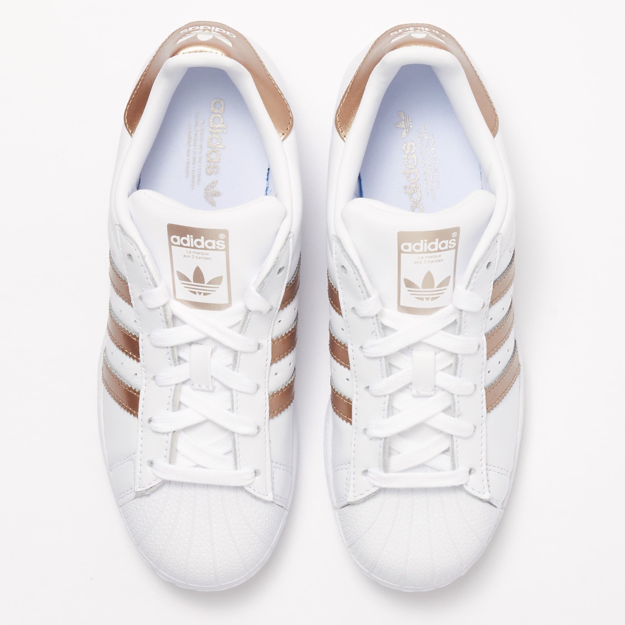 check out 18bff 79622 Superstar Trainers - White   Cyber Metallic