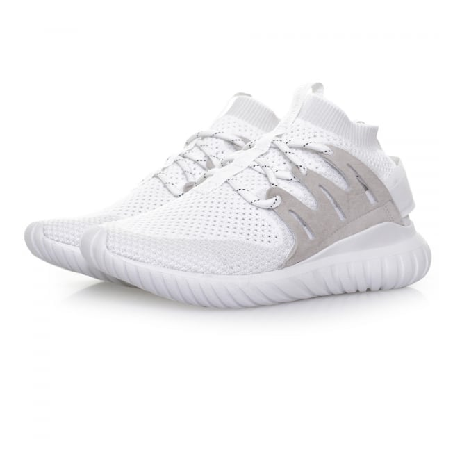 Adidas Originals Adidas Tubular Nova PK White Shoes S80106