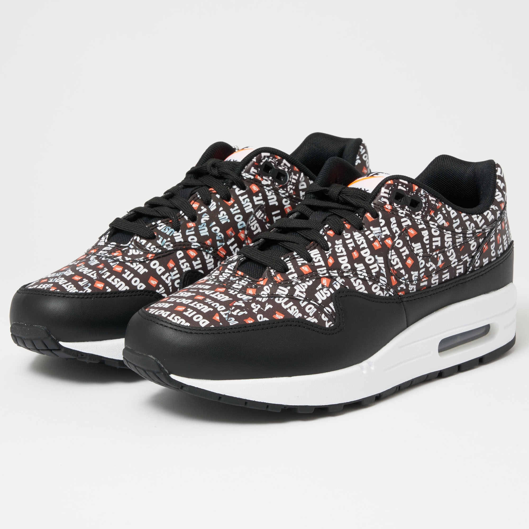 outlet store 5f4ea 14081 Air Max 1 PRM - Black, White   Total Orange