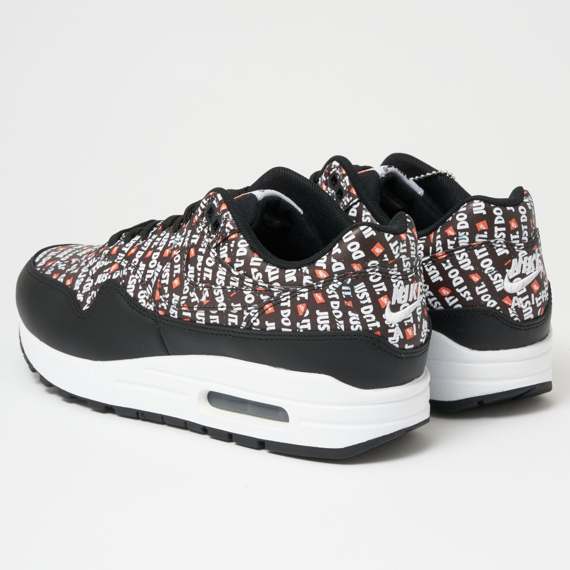 outlet store 8c83c ea7da Air Max 1 PRM - Black, White   Total Orange