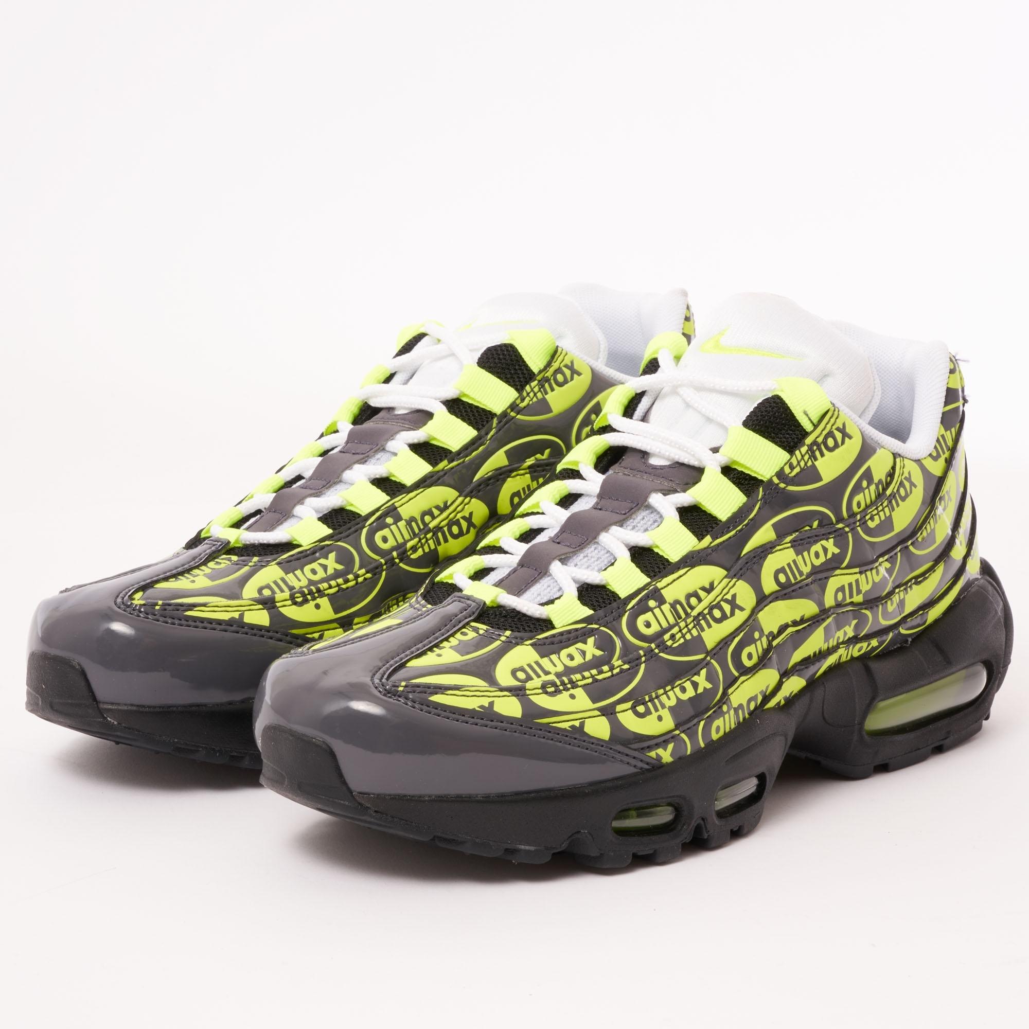 best sneakers 5c829 d0be3 Air Max 95 PRM - Black, Volt, Ash & White