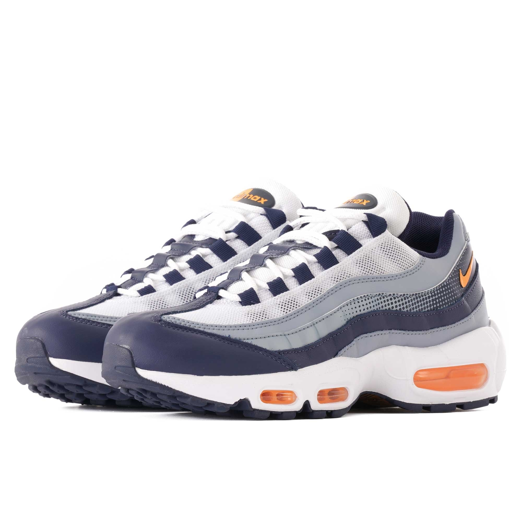 798d21e7f7463 Nike Air Max 95 SE | Midnight Navy & Laser Orange | AJ2018-401