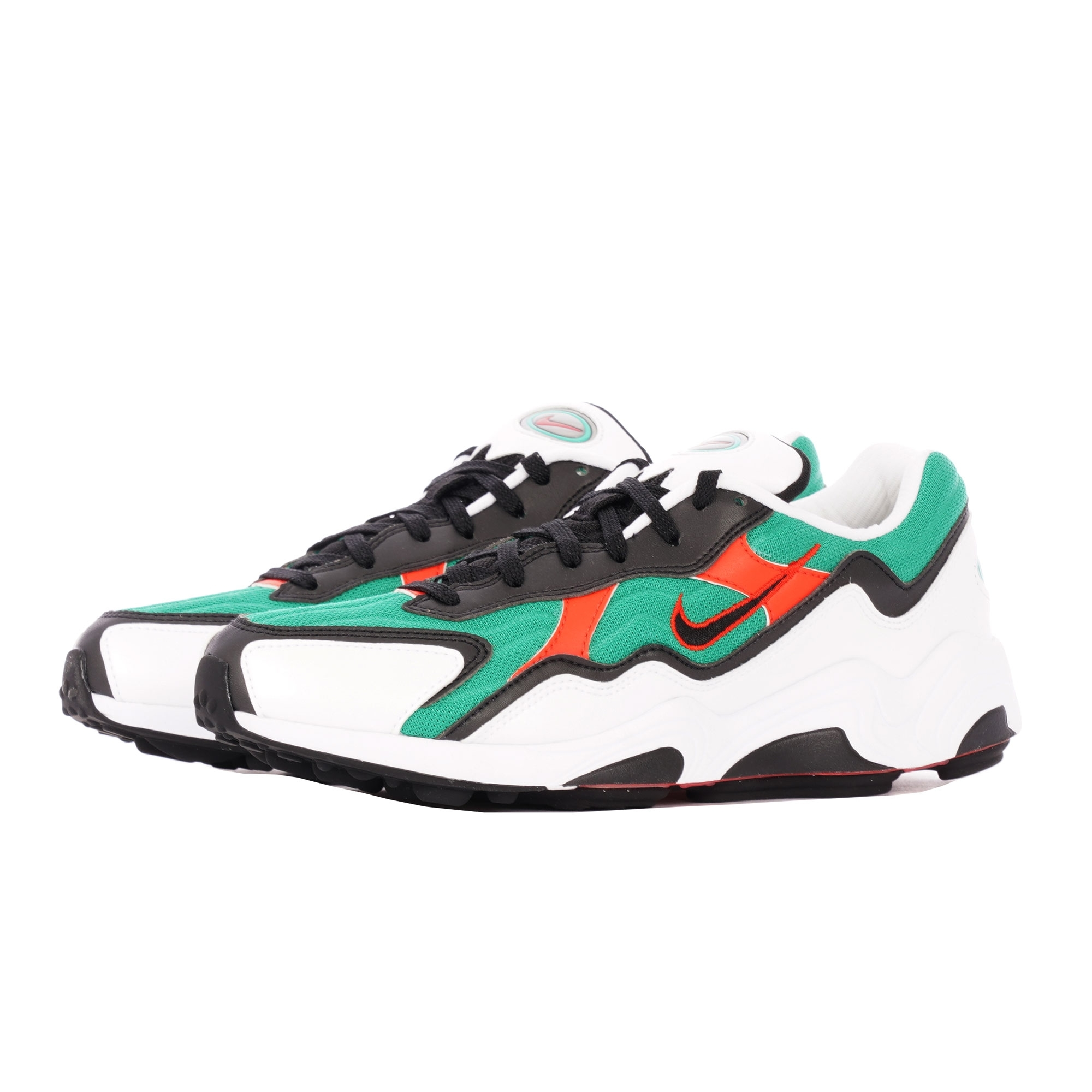 Air Zoom Alpha Lucid Green, Habanero Red, White & Black