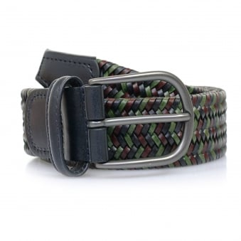 Anderson Belts Anderson's Woven Multi Braided Leather Belt AF2817