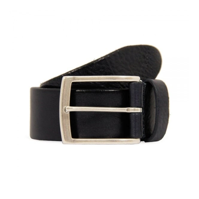 Anderson's Belts Anderson Navy Blue leather belt A2683