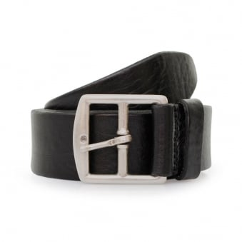 Anderson's Grain Black Leather Belt A/2683 PL100 N1