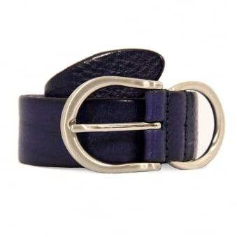 Anderson's Purple Leather Belt A2700