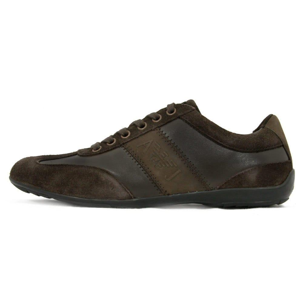 armani footwear marron shoes u6534 7g