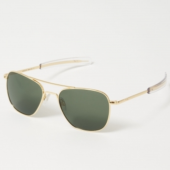 0b75934fa6 Aviator Sunglasses 55mm - Gold 23K