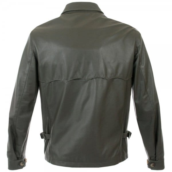 Baracuta leather jacket