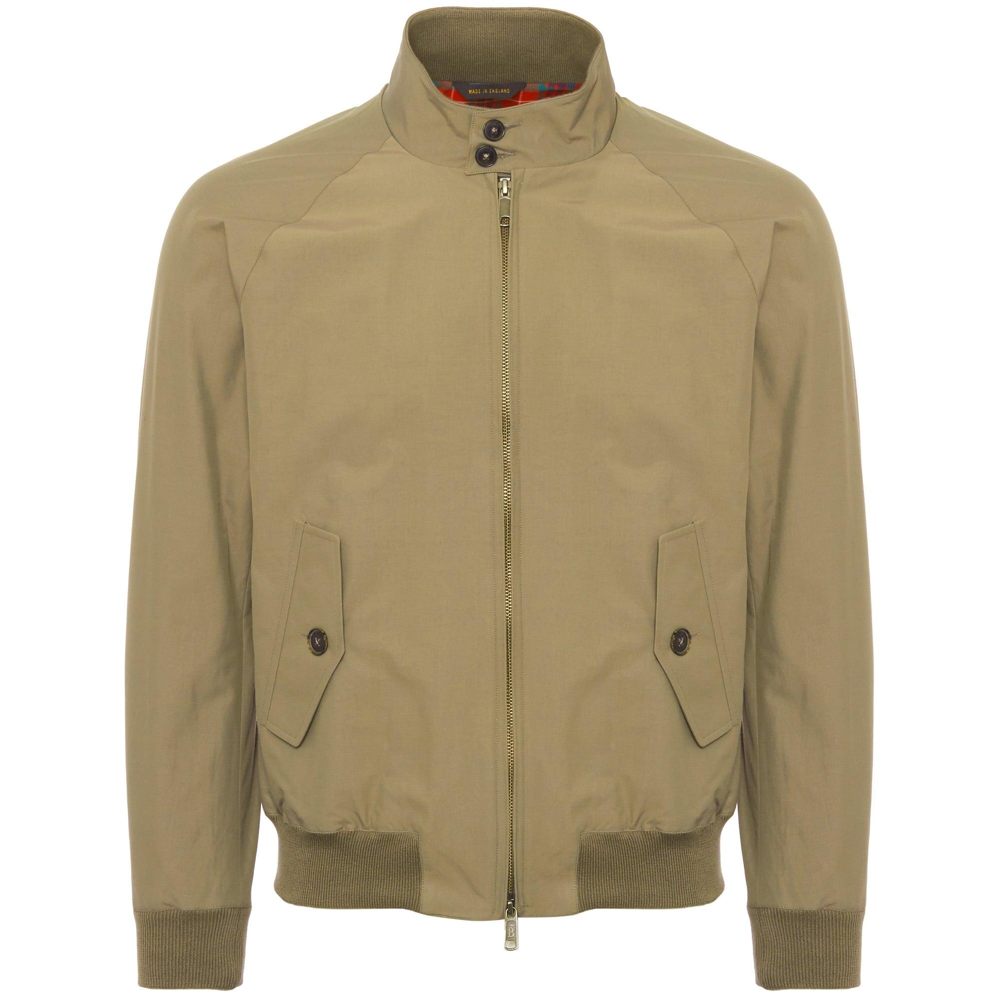 bf731d9ee88e1 Baracuta G9 Original Harrington Jacket Tan BRCPS0001