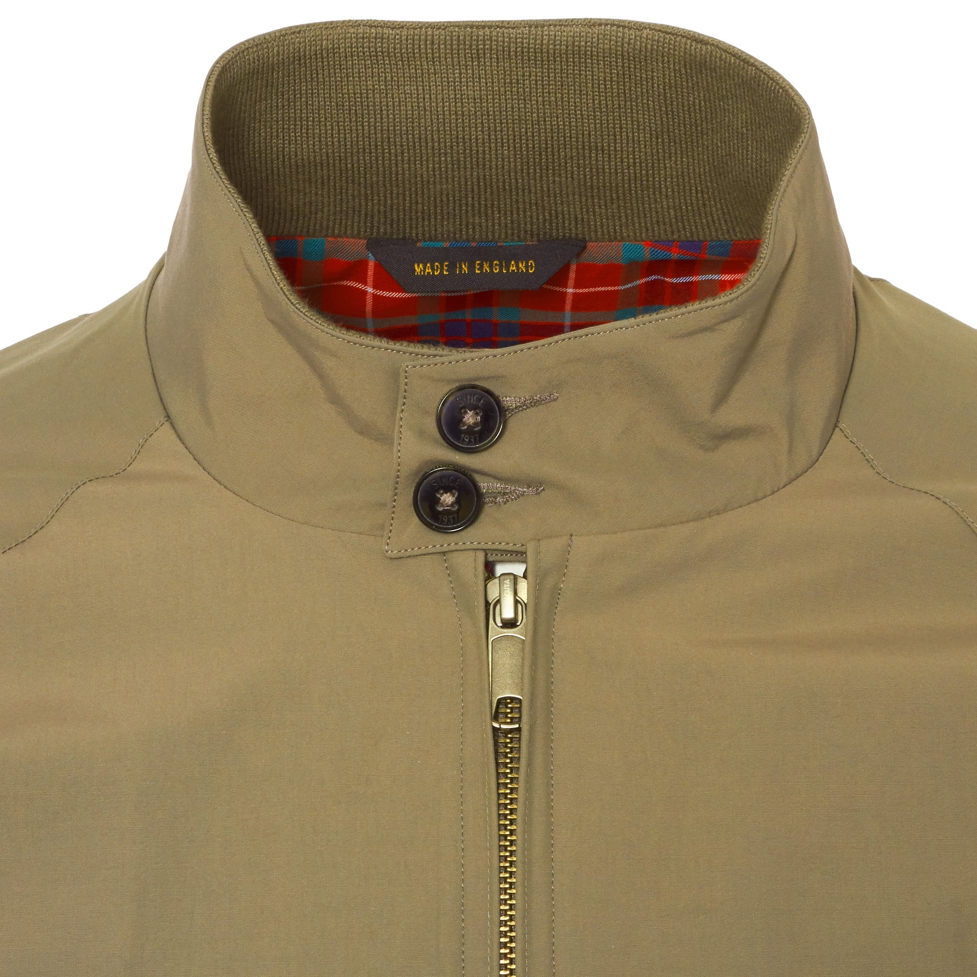 14bde2db0cc56 Baracuta G9 Original Harrington Jacket Tan BRCPS0001