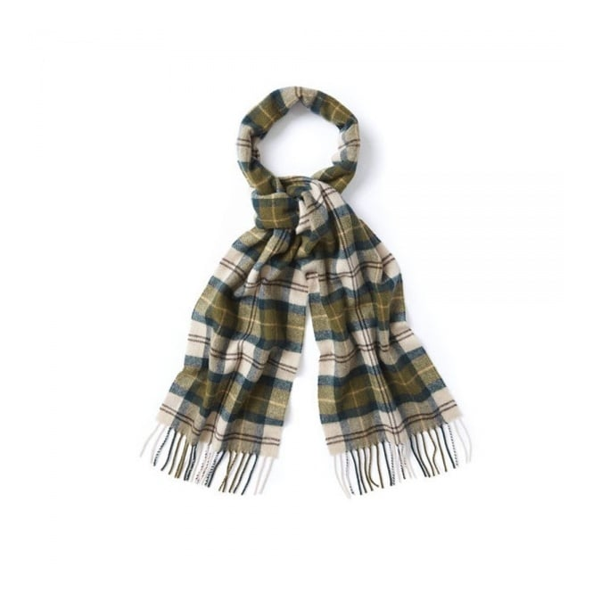 Barbour Accessories Barbour Ancient Tartan Green Scarf USC0001TN51