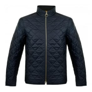 Barbour International Axle Quilt Navy Jacket MQU0630NY91