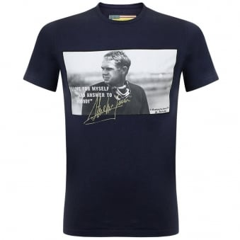 Barbour International Tanner Navy T-Shirt MTS0127NY91