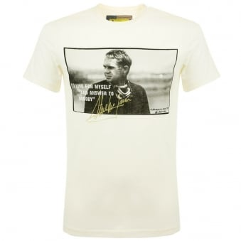 Barbour International Tanner Netural T-Shirt MTS0127BE13