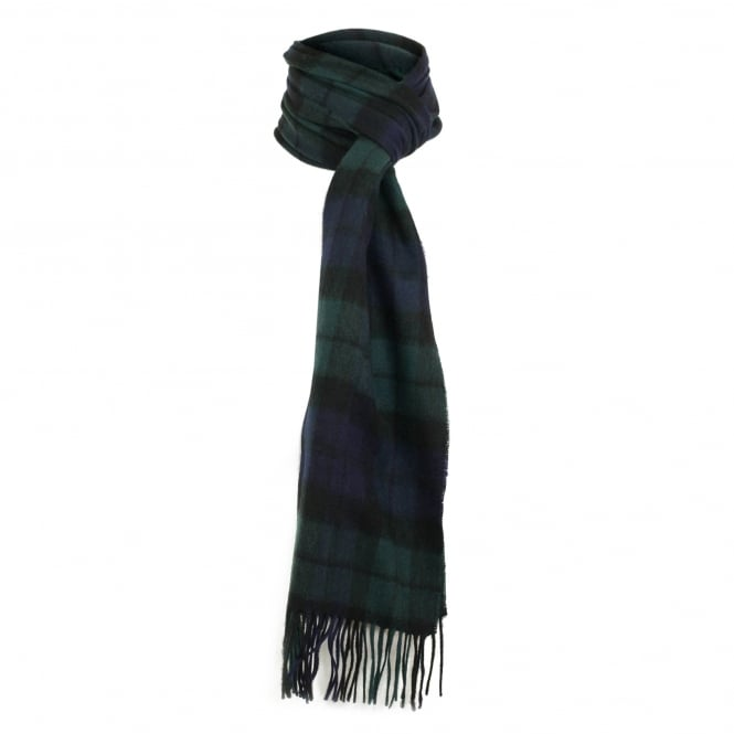 Barbour Accessories Barbour New Check Black Watch Tartan Scarf USC0137NY911