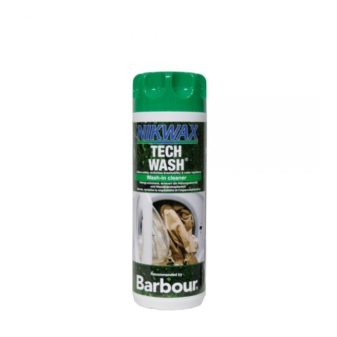 Barbour Accessories Barbour Nikwax Wash-in Tech Wash Cleaner