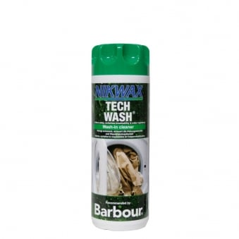 Barbour Nikwax Wash-in Tech Wash Cleaner