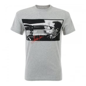 Barbour Steve McQueen Nobody Grey T-Shirt MTS0074GY52