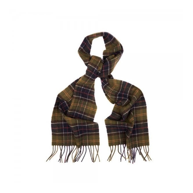 Barbour Accessories Barbour Tartan Classic Labswool Scarf USC0001TN11