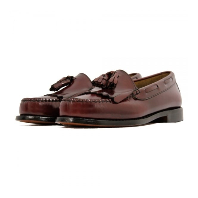 Bass Weejuns Bass Weejun Layton Burgundy Loafer Shoe