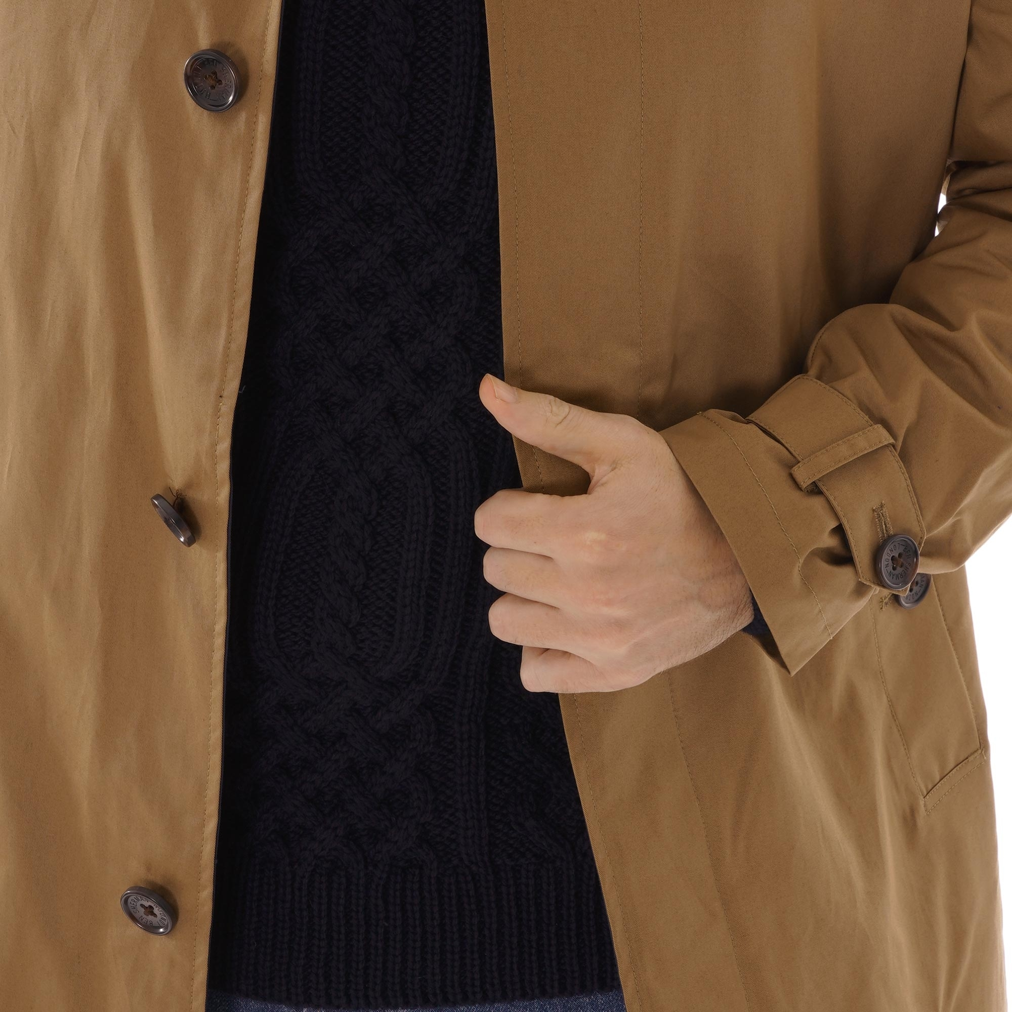 Ben Sherman Mens New Mac Coat
