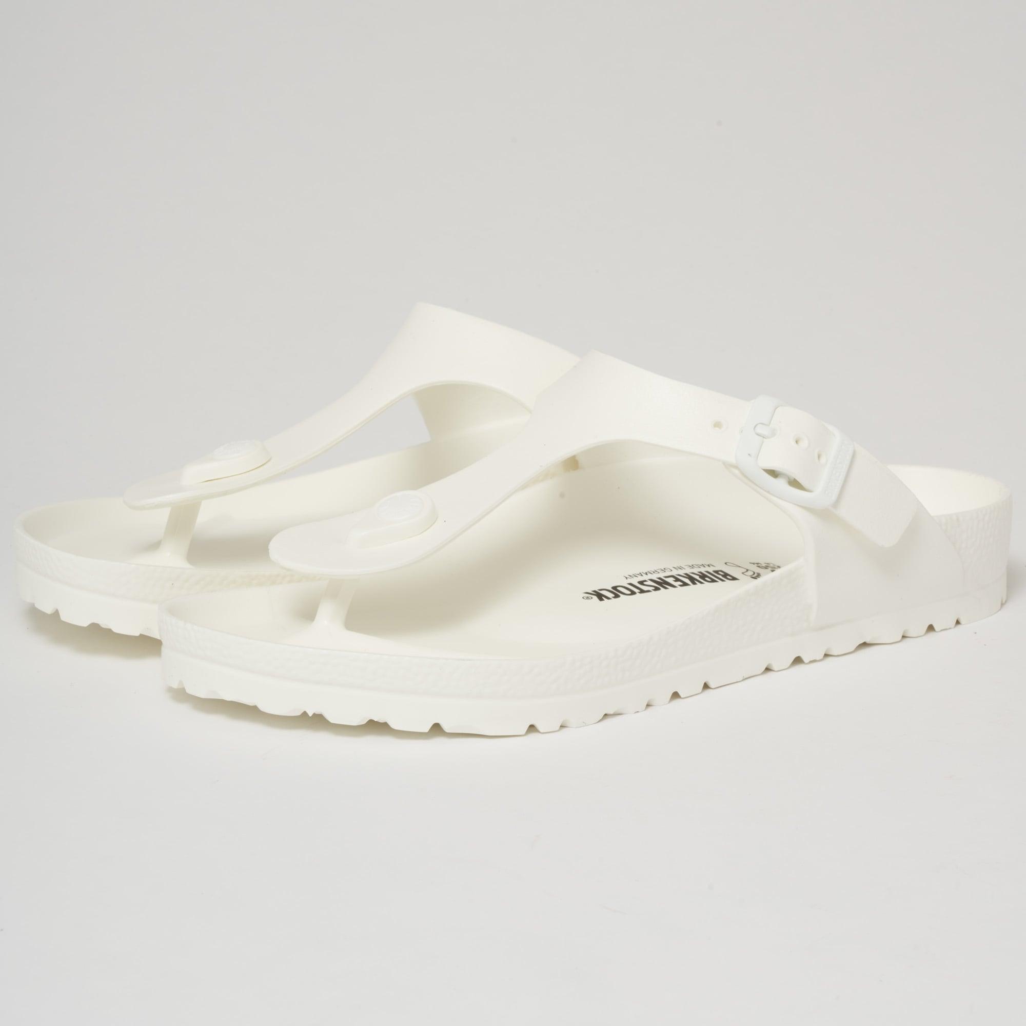 Birkenstock Gizeh EVA Sandals White