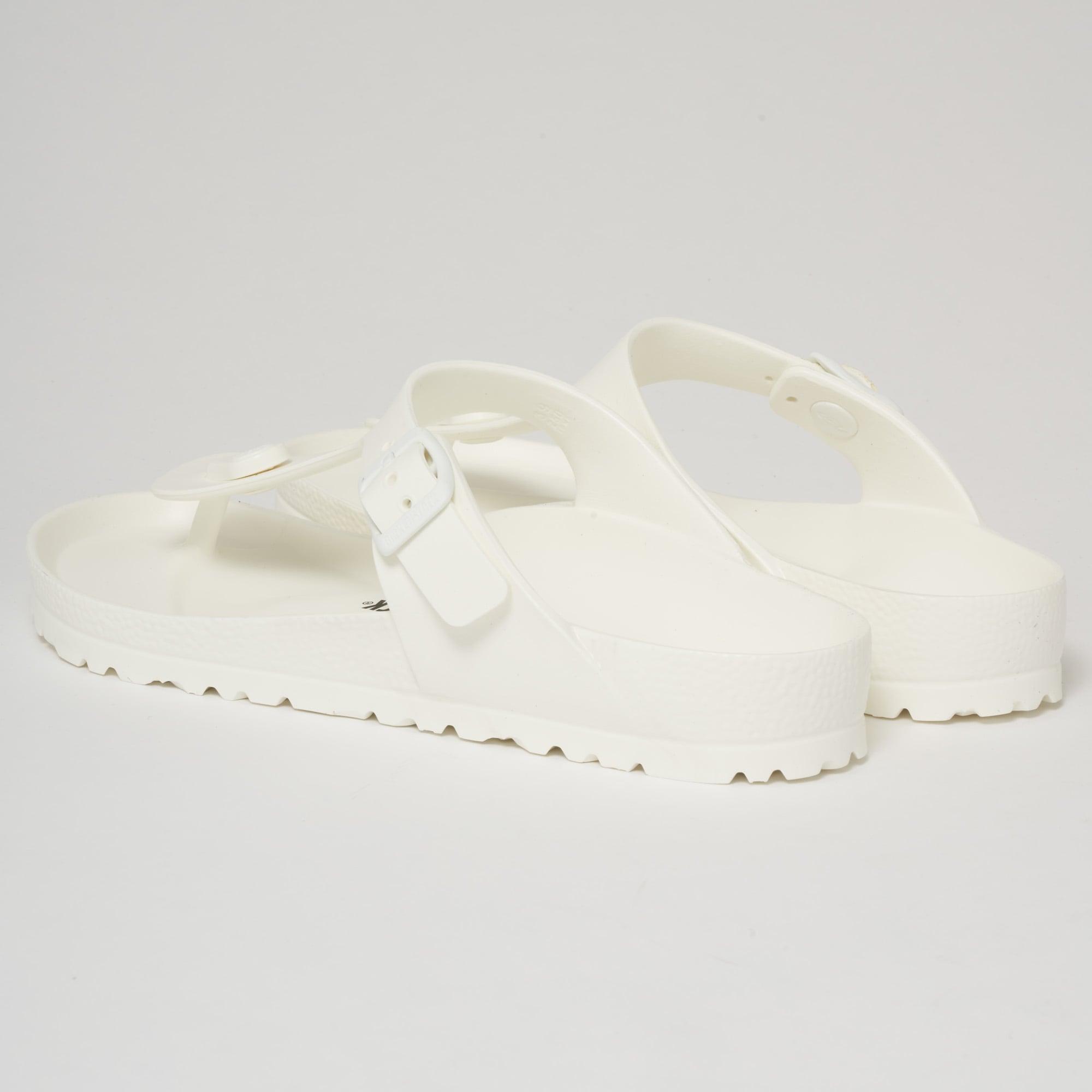 fcd05c95b112 Birkenstock Gizeh EVA Sandals White 128221