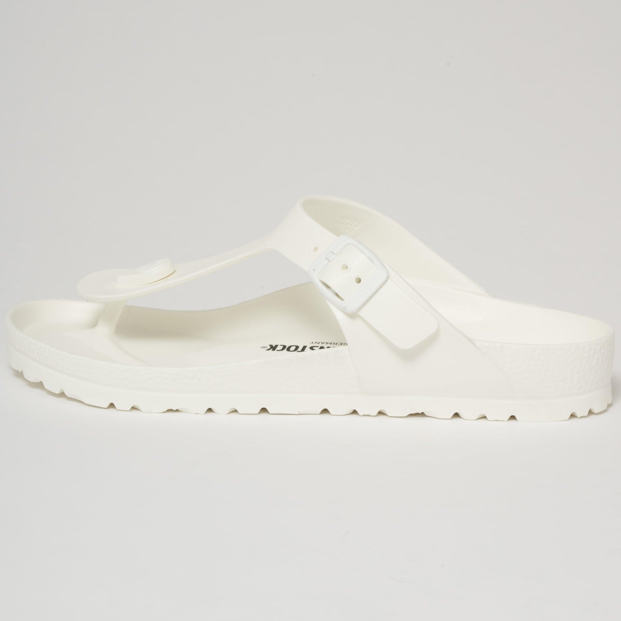 724fdaeec22 Birkenstock Gizeh EVA Sandals White 128221