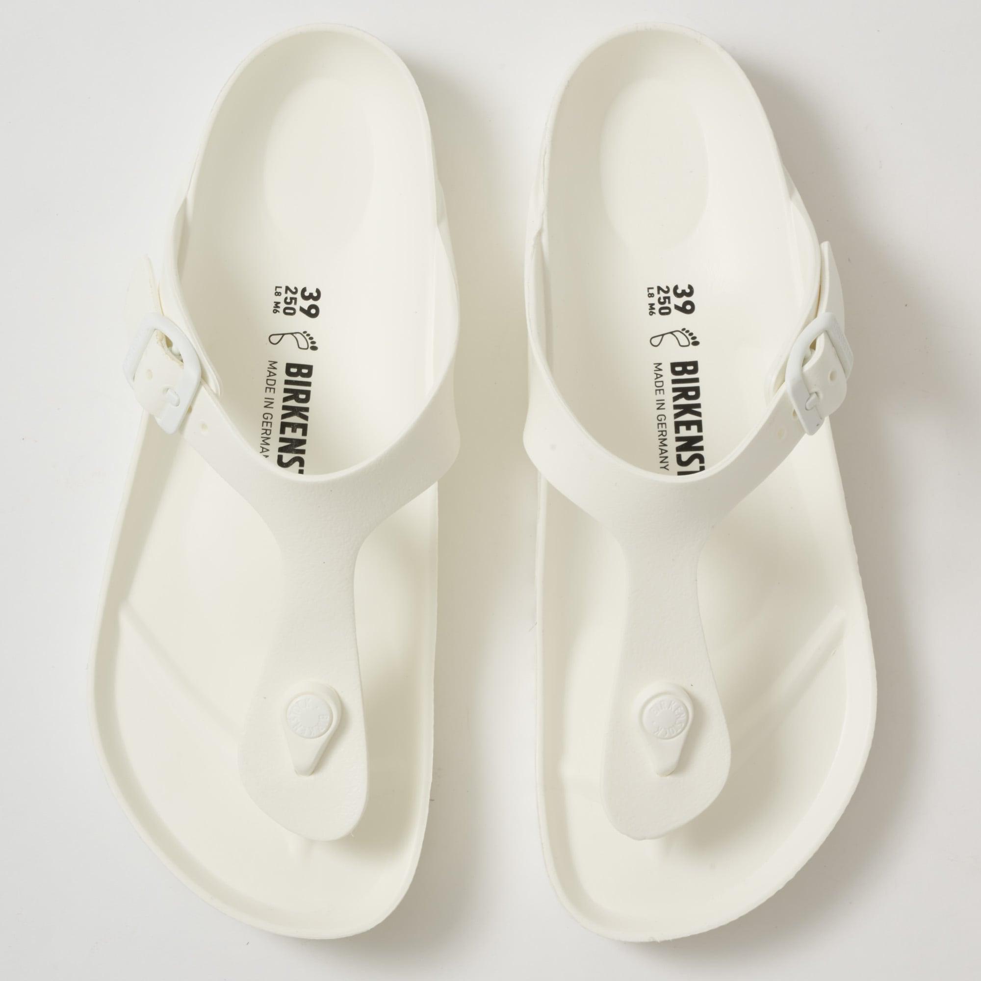 e3f385b60774 Birkenstock Gizeh EVA Sandals White 128221