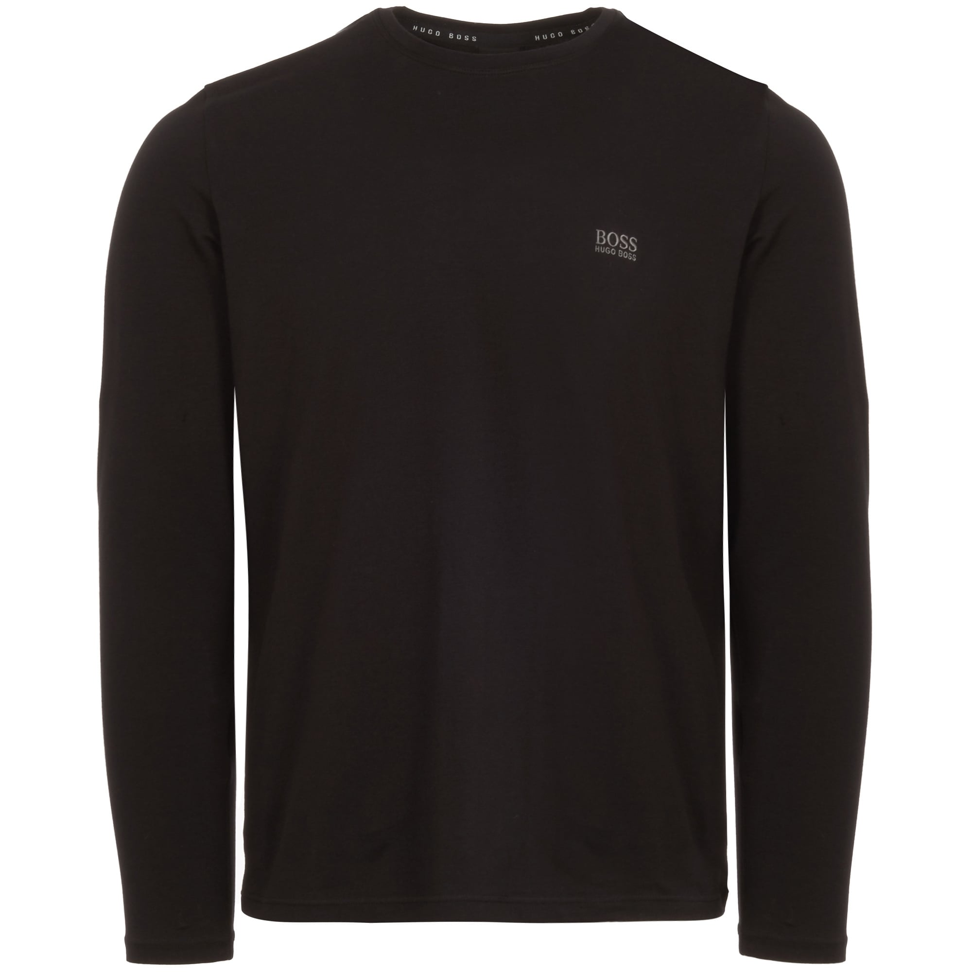 05f2586bfdf Black Long Sleeve Stretch Cotton T-Shirt