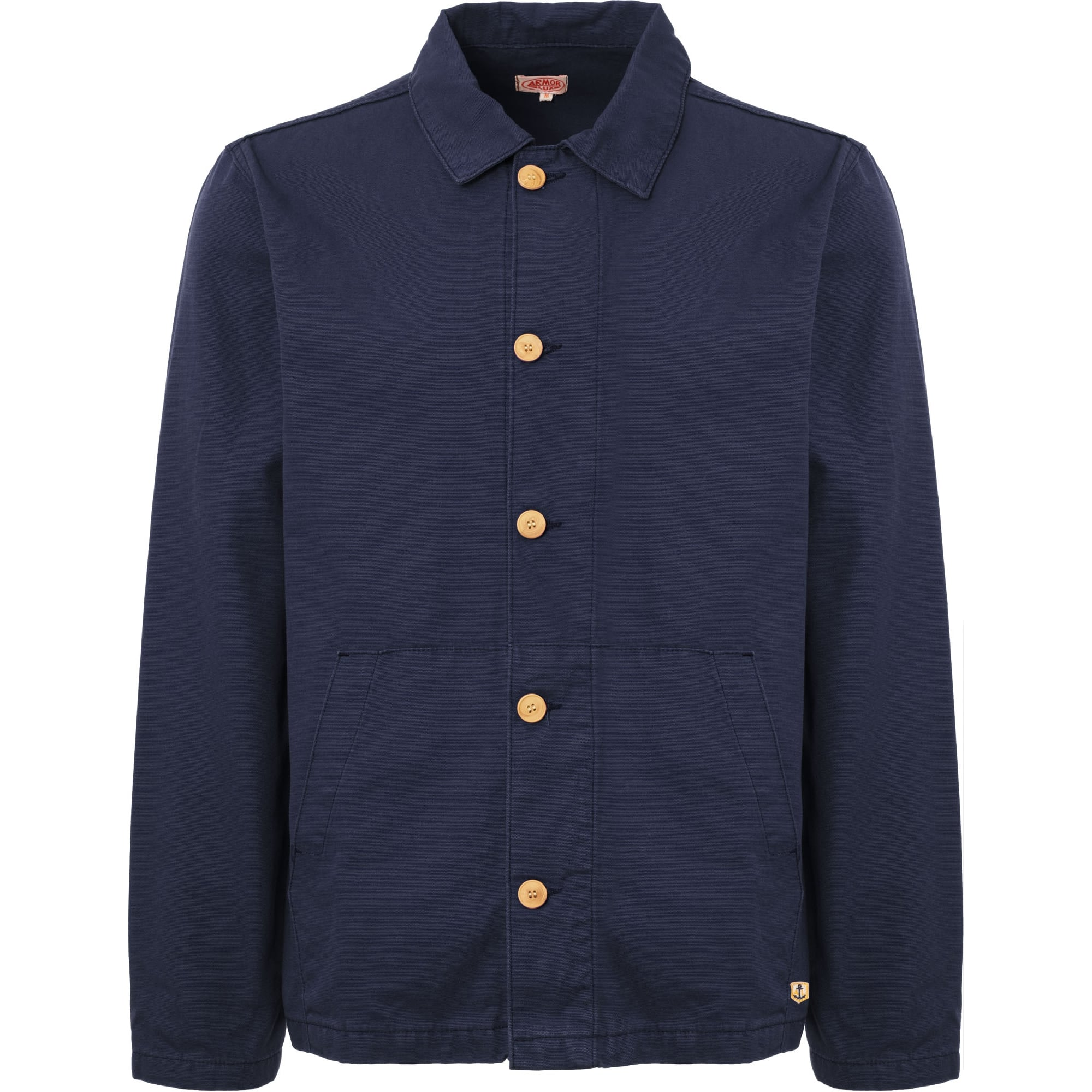 c1e015443a1 Armor Lux Blue Heritage Fisherman s Jacket 72932