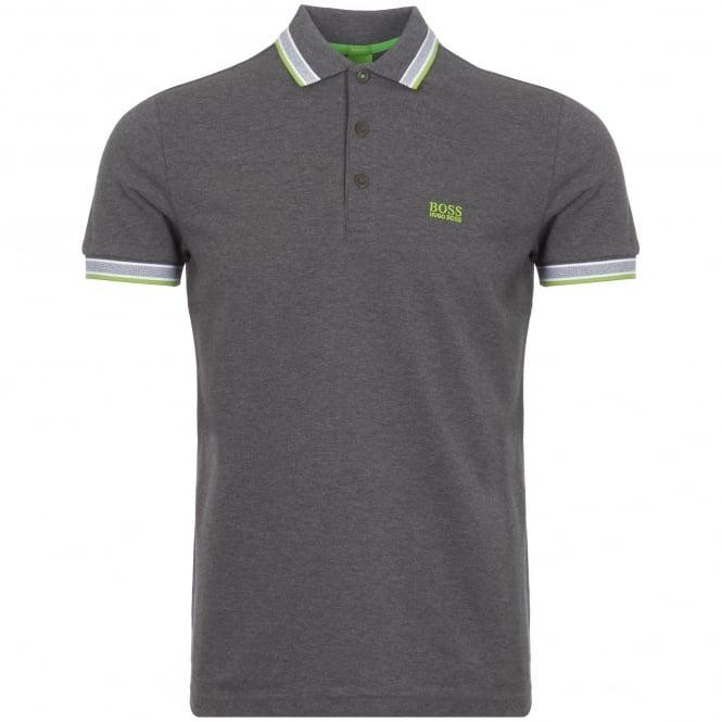 f10d8702b boss green medium grey paddy polo shirt