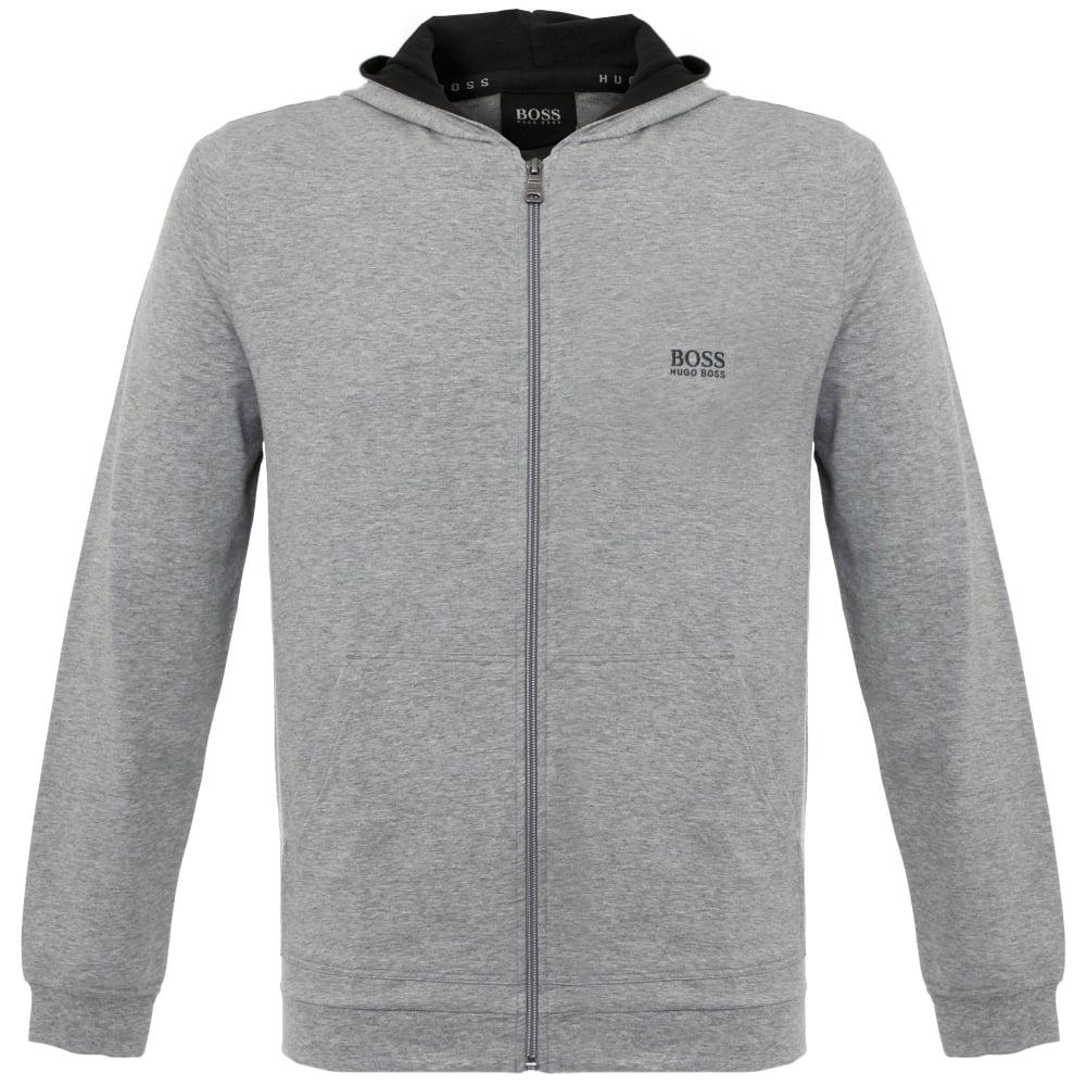 95de0c12c Hugo Boss Jacket Hooded Medium Grey Track Top 50297316