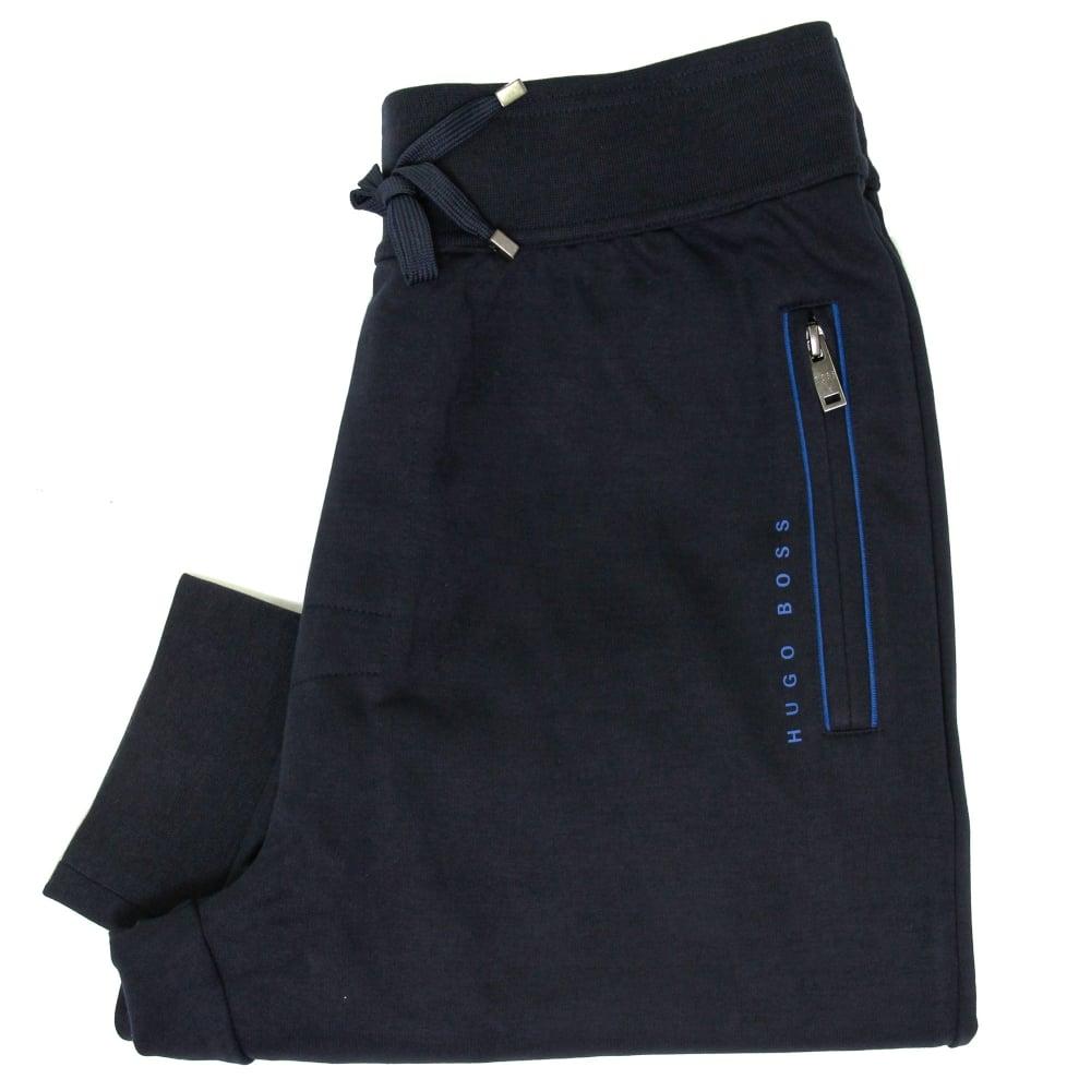 a524ef58437 Hugo Boss Long Pant Cuff Dark Blue Track Pants 50322097