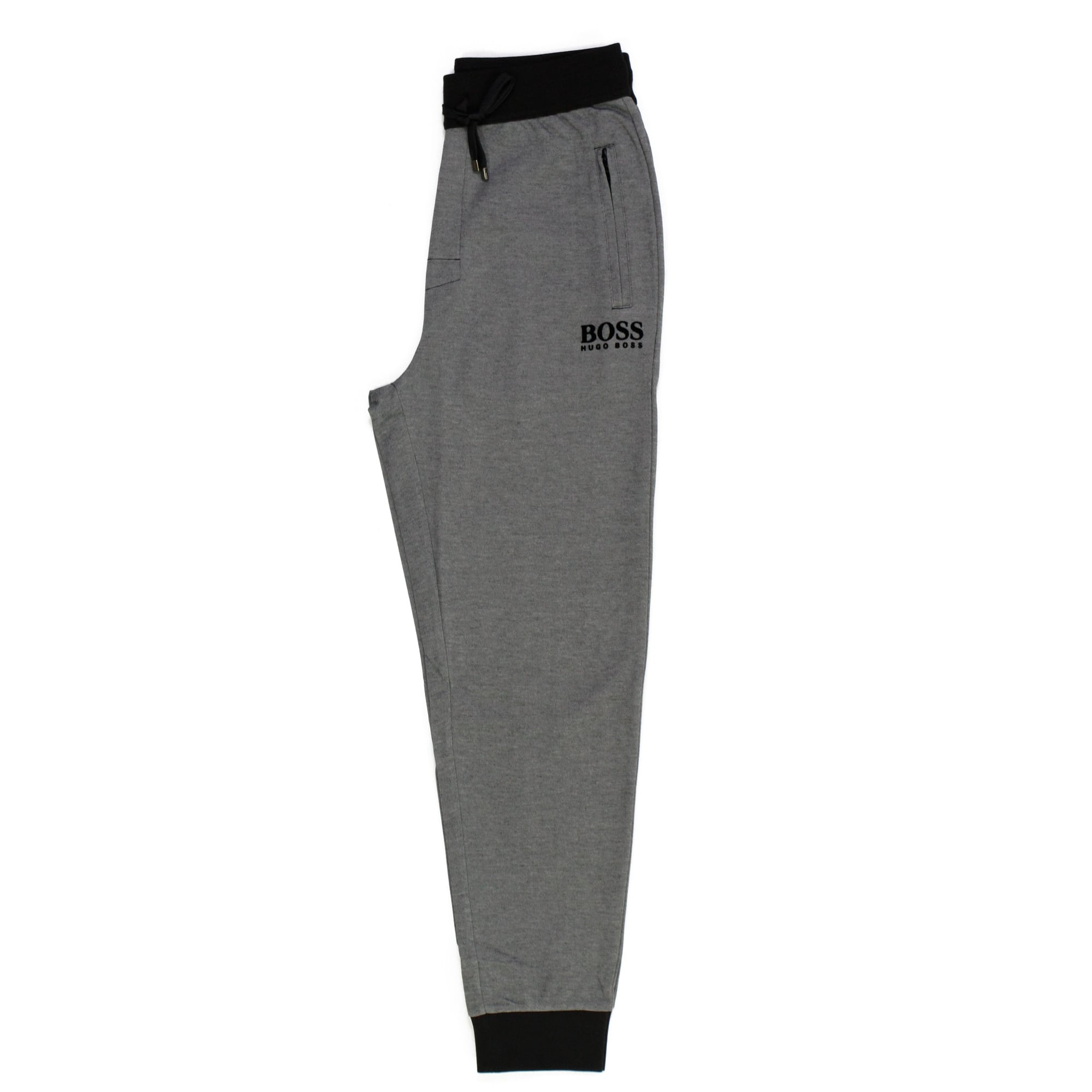 3179ba10 Hugo Boss Long Pant Cuffs Black Track Pants 50326750