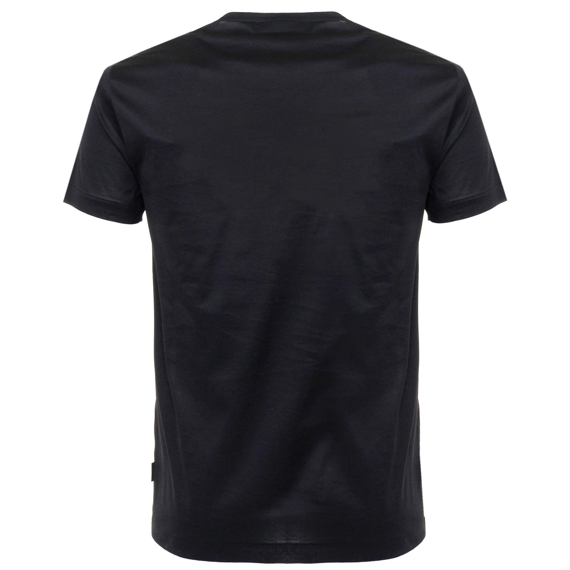Black t shirt calvin klein - Black T Shirt Calvin Klein Calvin Klein Jato Merc Single Jersey Black T Shirt K10k100979