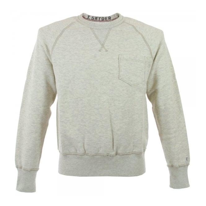82dd408301ae Champion Pocket Sweatshirt Oatmeal D018F14 T010