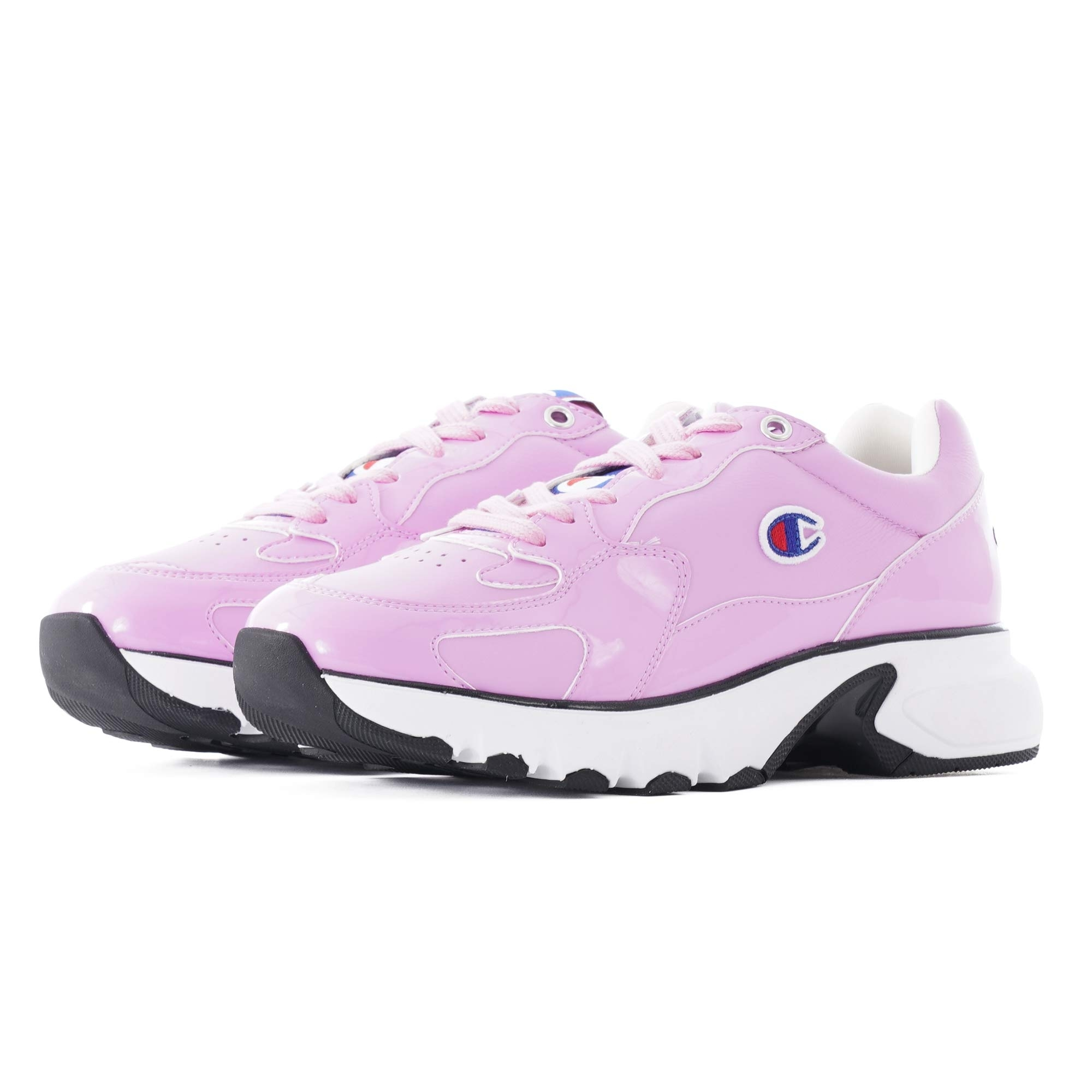 Image of CWA-1 Patent Leather Sneakers - Pink