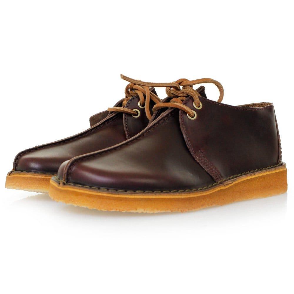 Clarks Originals Desert Trek Leather Shoes