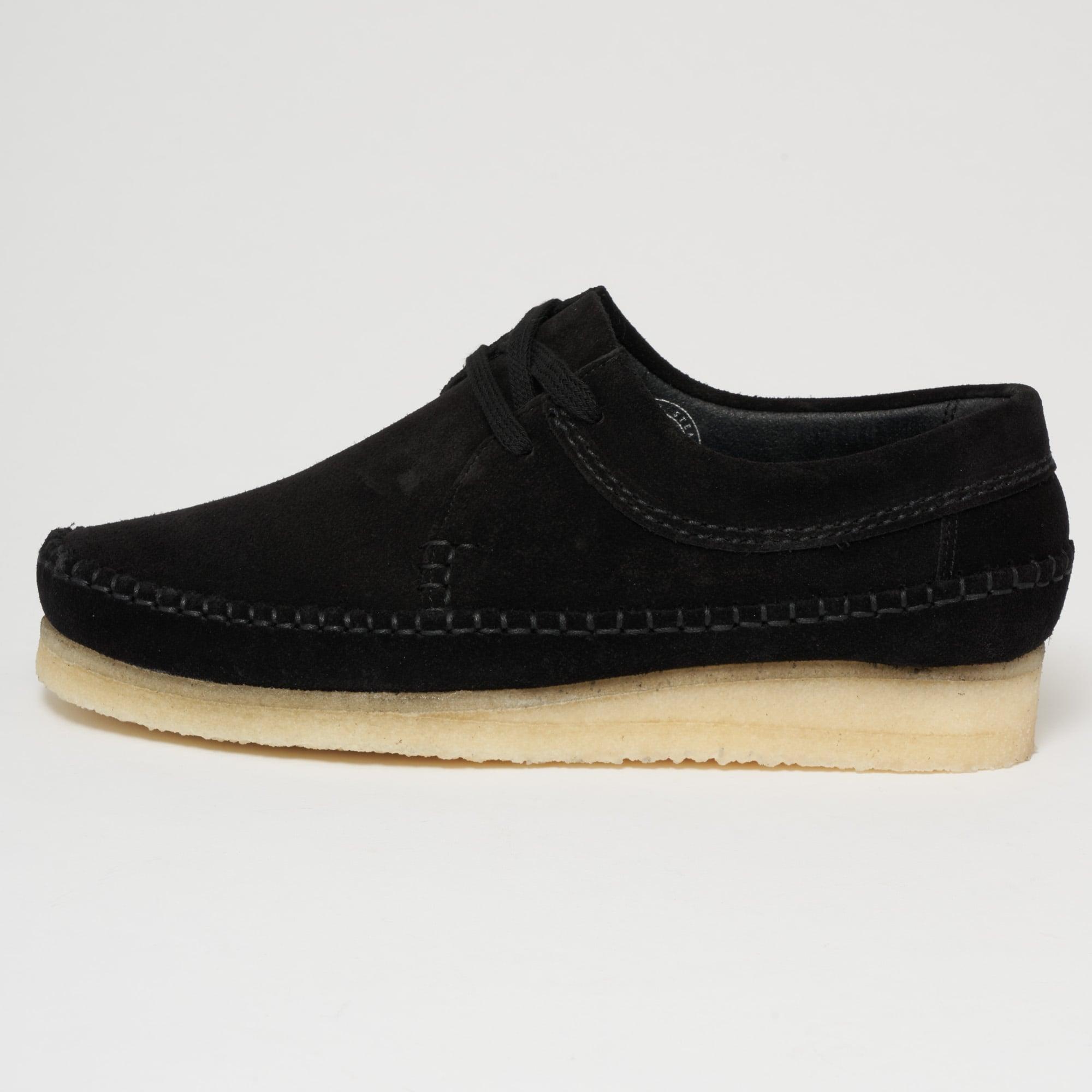Dark Ochre Yellow Suede Weaver Shoe Clarks Originals